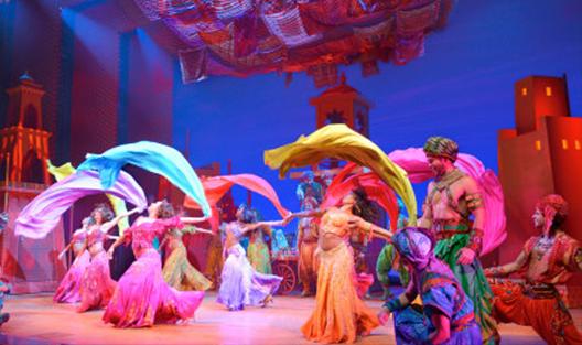 Danseur - Comédie musicale Aladin
